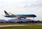 Vietnam Airlines effectue le premier vol commercial international après le COVID-19