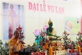 Les Vietnamiens au Laos préservent la beauté de la fête Vu Lan