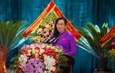 Lê Thi Thuy réélue secrétaire du Comité du Parti de Hà Nam