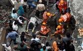 Effondrement d'un immeuble en Inde : le bilan s'élève à au moins 26 morts