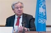 Guterres appelle à reprendre les négociations Palestiniens - Israéliens