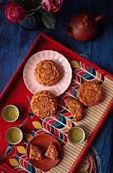 Le bánh nuong ou gâteau de lune cuit au four