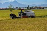 Création des domaines agricoles pour assurer l'autonomie alimentaire