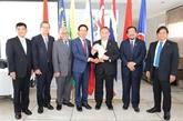 Rencontre des ambassadeurs des pays de l'ASEAN en Afrique du Sud