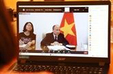 Visioconférence sur la célébration des 45 ans des relations bilaterales