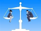L'égalité des sexes, base nécessaire d'une société pacifique et prospère