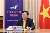Pham Binh Minh à un débat au sommet du Conseil de sécurité de l'ONU
