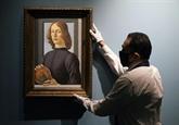 Un rare Botticelli aux enchères, estimé plus de 80 millions d'USD