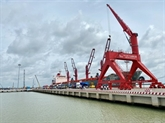 Inauguration de la phase 1 du port international de Long An