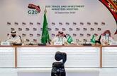 Le sommet 2020 du G20 sera tenu en ligne les 21 et 22 novembre