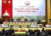 Ouverture du XIe Congrès du Parti de l'Armée populaire du Vietnam