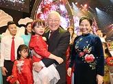 Le dirigeant Nguyên Phu Trong envoie une lettre aux enfants