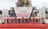 Binh Phuoc : exposition de documents sur la guerre de résistance et la construction nationale