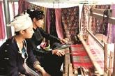 Hàm Yên préserve et valorise le tissage de brocart