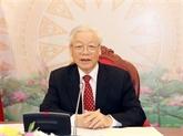 Vietnam - Chine : conversation téléphonique entre Nguyên Phu Trong et Xi Jinping