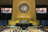 Clôture du débat général de la 75e Assemblée générale de l'ONU
