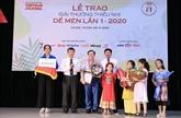 Prix Dê mèn : Nguyên Nhât Anh reçoit le Grand prix