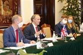 Vietnam et Royaume-Uni publient une déclaration conjointe sur leur partenariat stratégique