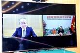 Vietnam - Japon : des responsables du PCV et du PCJ s'entretiennent en ligne