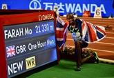 Athlétisme : Mo Farah bat le record de l'heure pour son grand retour sur la piste