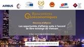 Réunion d'affaires sur l'accord de libre-échange UE - Vietnam en France