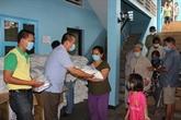 Aide d'urgence accordée aux familles d'origine vietnamienne au Cambodge