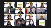 Des jeunes à une simulation du Sommet de l'ASEAN