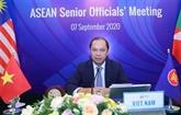 Réunions des hauts fonctionnaires de l'ASEAN pour préparer l'AMM-53