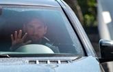 Lionel Messi de retour au centre d'entraînement du FC Barcelone