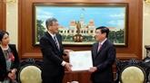 Hô Chi Minh-Ville promet son soutien au développement des relations avec le Japon