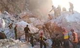 Éboulement d'une mine de marbre dans le Nord-Ouest du Pakistan