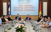 Le Musée de Hô Chi Minh et l'Institut du patrimoine Ben Gourion renforcent leur coopération