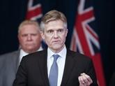 Canada : un ministre de l'Ontario démissionne après des vacances à l'étranger