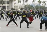 Des forces prêtes à assurer la sécurité du XIIIe Congrès national du Parti