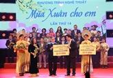 Fonds collectés au programme artistique