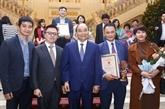 Prix Marteau et Faucille dor 2020 : pour le renforcement de lédification du Parti