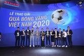 Nguyên Van Quyêt et Huynh Nhu lauréats du Ballon d'Or du Vietnam 2020