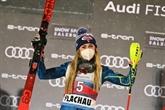 Ski alpin : Shiffrin renoue avec la victoire en slalom à Flachau