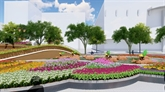 La rue florale Nguyên Huê 2021, entre