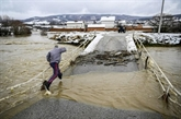 Inondations en Albanie et au Kosovo