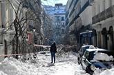 Madrid toujours groggy après une tempête de neige historique