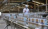 Deux unités nouvellement autorisées à exporter du lait vers la Chine
