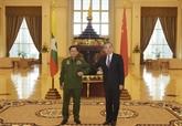 Chine et Myanmar conviennent d'accélérer la construction d'un corridor économique