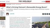 Quel est le moteur du boom des énergies renouvelables au Vietnam ?