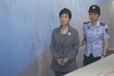 Peine de 20 ans de prison contre l'ex-présidente Park confirmée