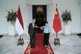 Renforcement de la coopération Indonésie - Chine en réponse à la pandémie de COVID-19