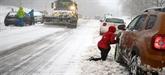 Des restrictions de circulation en raison de la neige dans le Nord et l'Est de la France