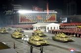 La RPDC organise un défilé militaire pour célébrer le VIIIe congrès du PTC