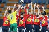 Hand : Croatie et Espagne accrochées pour leur entrée dans le Mondial