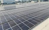 Toiture photovoltaïque à l'aéroport de Tân Son Nhât